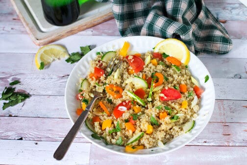 The best Greek-style quinoa salad | All that's Jas