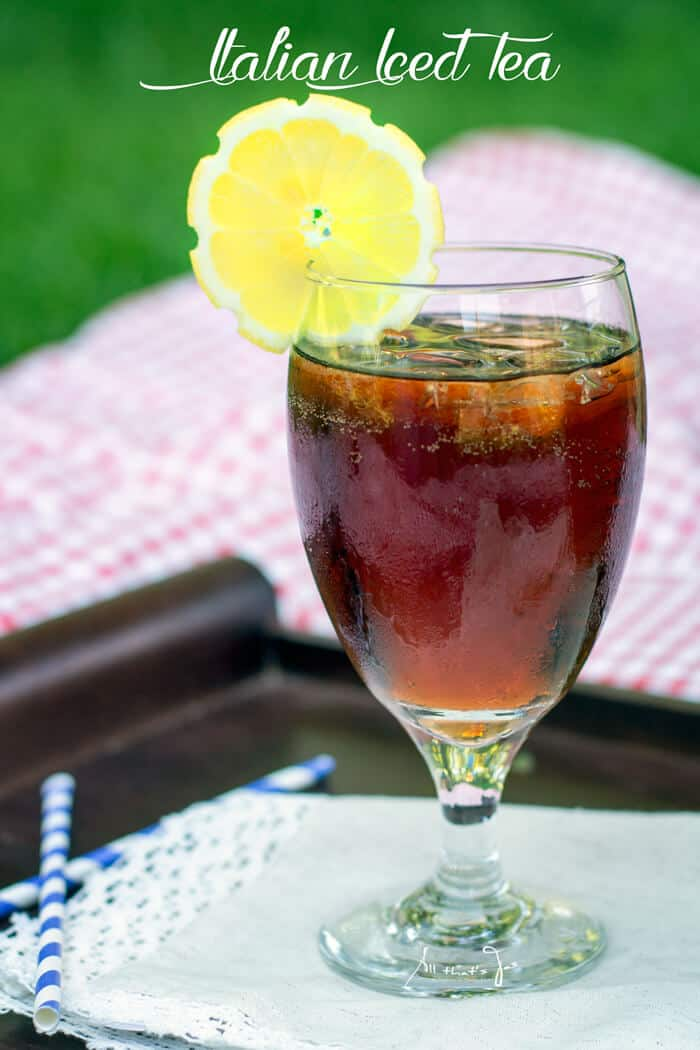 Unwind after work with this aromatic, three-ingredient iced tea cocktail.