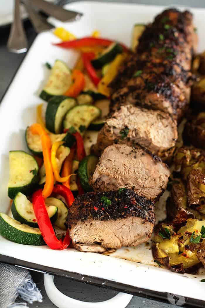 Oven-roasted pork tenderloin recipe
