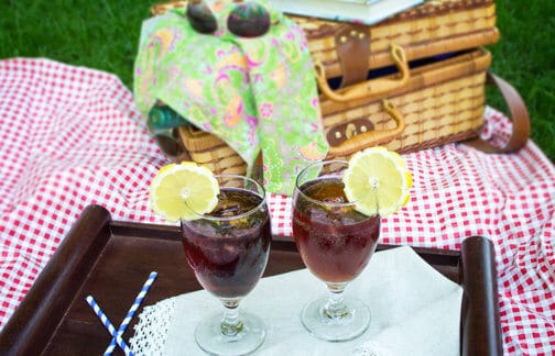 Unwind after work with this aromatic cocktail, three-ingredient Italian iced tea.