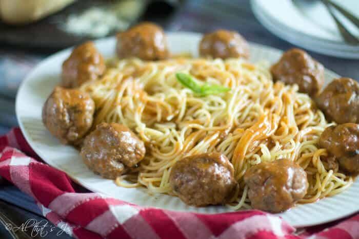 Cufte - Bosnian style meatballs