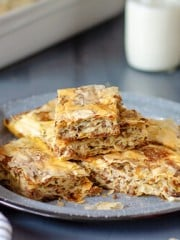 Layered Fillo Meat Pie - Burek | All that's Jas