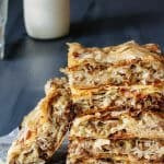 Layered Fillo Meat Pie - Burek