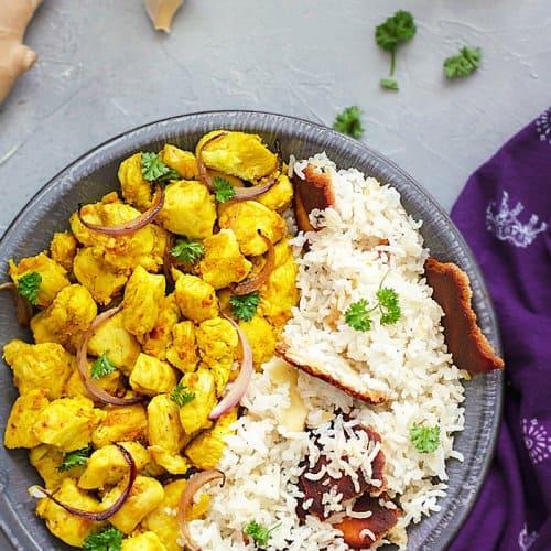 Indian Ginger Garlic Chicken