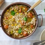 Cajun Chicken Gumbo with Barley | All that's Jas
