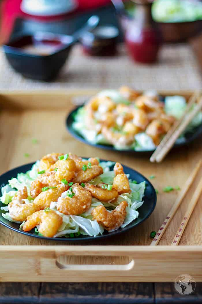 A healthier version of Bonefish Grill favorite appetizer, these delicious bang bang shrimp are baked in the oven.