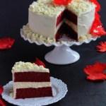 Red Velvet Cheesecake Cake (Celebrating Moms)