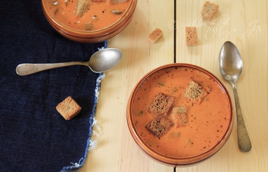 Creamy Mushroom Soup 1