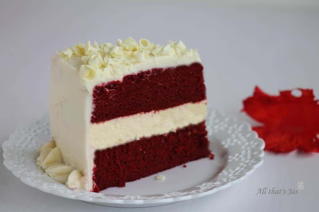 red velvet cheesecake | All that's Jas