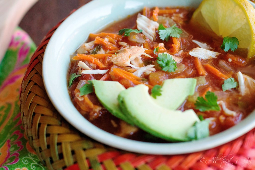 Sopa de Pollo (Mexican Chicken Soup)