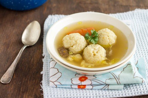 Beef Soup with Semolina Dumplings | All that's JasAll that's Jas