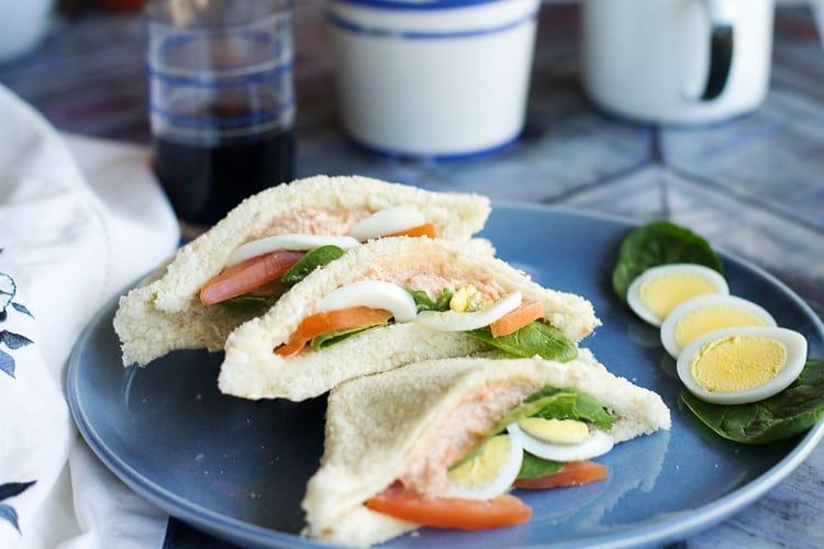 Venetian Crab Sandwich - tramezzino al granchio | All that's Jas