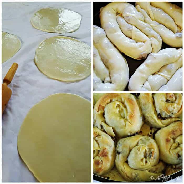 Meat Pie with Homemade Phyllo Pastry - Burek
