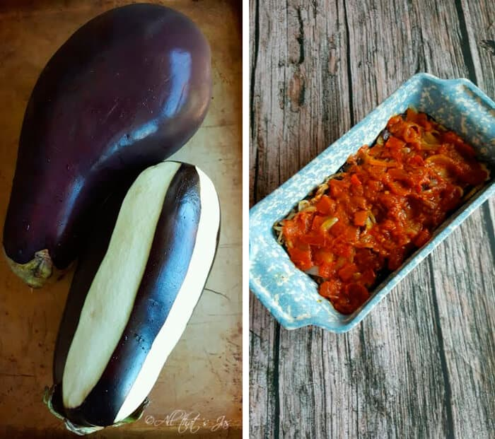 salt top eggplant with yogurt sprinkle with cilantro parsley or mint ...
