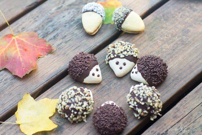 Amazing hedgehog cookies