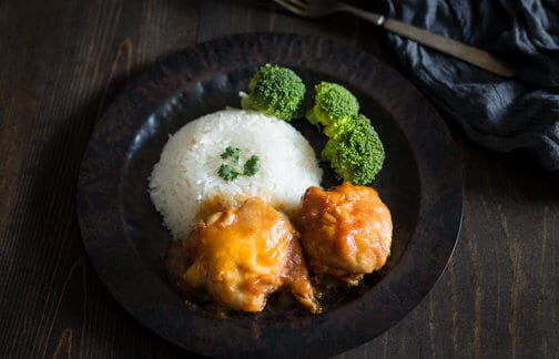 Slow cooker sticky Chinese chicken - All that's Jas