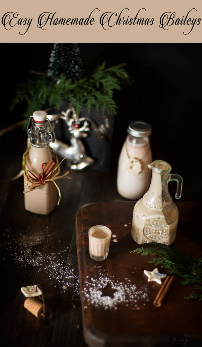 Easy Homemade Christmas Baileys - All that's Jas