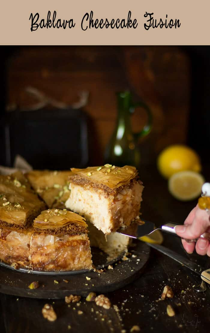 Baklava Cheesecake Fusion - the best of both worlds