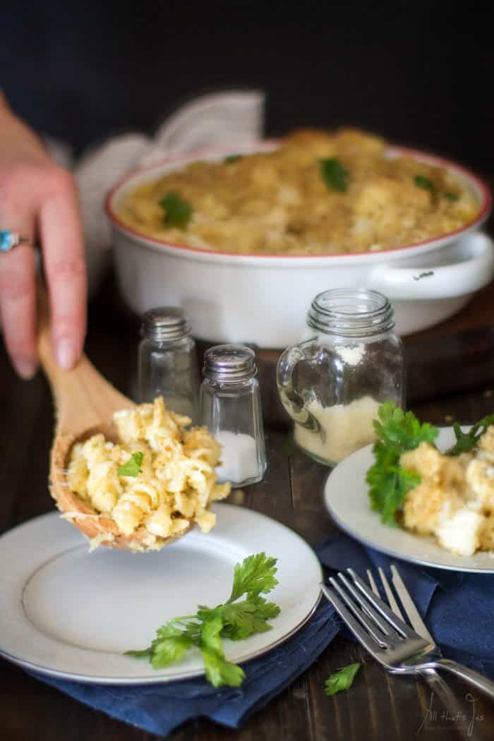 Best Cauli Mac and Cheese - All that's Jas