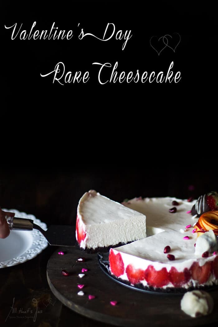 Valentine's Day rare cheesecake - All that's Jas