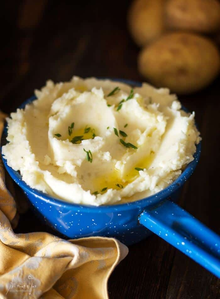 how to make the best mashed potatoes from scratch - All that's Jas