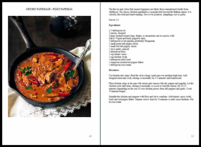 inside my cookbook Balkan Comfort Food - All that's Jas