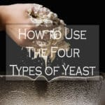 active dry, instant, rapid raise, and fresh yeast and how to use it