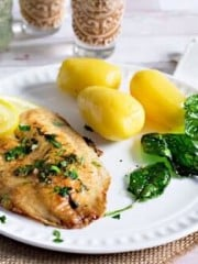Simple Fish Recipe - Fish à la Meunière
