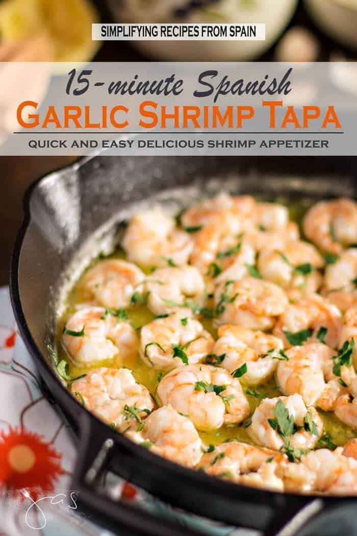 Quick and Easy Spanish Garlic Shrimp Tapa