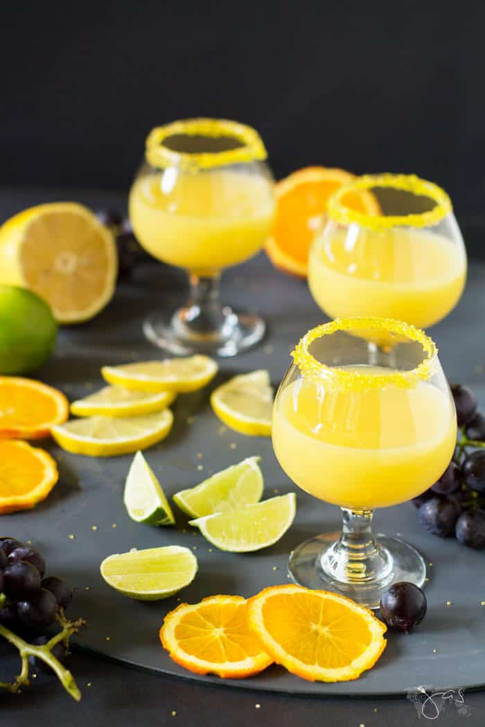 Florida citrus drop shot is made quick and easy with a handful of ingredients.