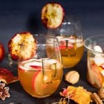 Chilled Spiced Apple Beer Punch | All that's Jas