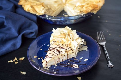 Indiana Hoosier Sugar Cream Pie - Reinvented | All that's Jas