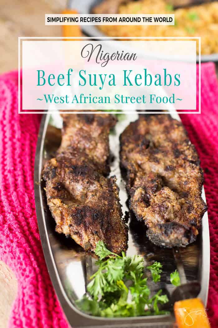 These authentic beef kebabs are a West African classic.