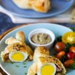 Puff Pastry Eggs with Ham and Cheese