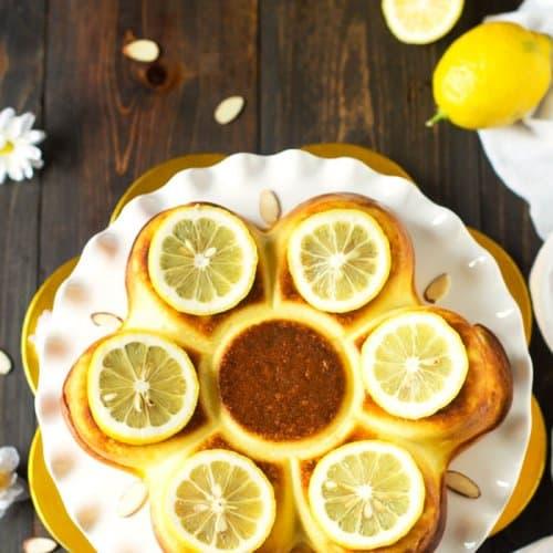 Corsican Lemon Cheesecake - Fiadone