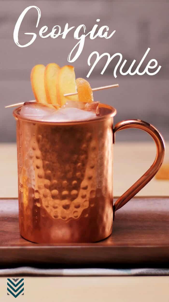Georgia Mule - peaches