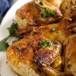 Georgian Crispy Chicken Tabaka