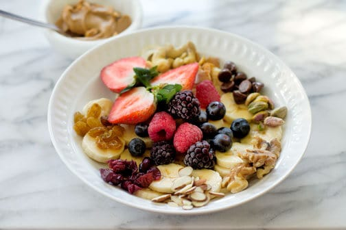 Fruit & Nuts Monkey Breakfast Bowl   All that's Jas