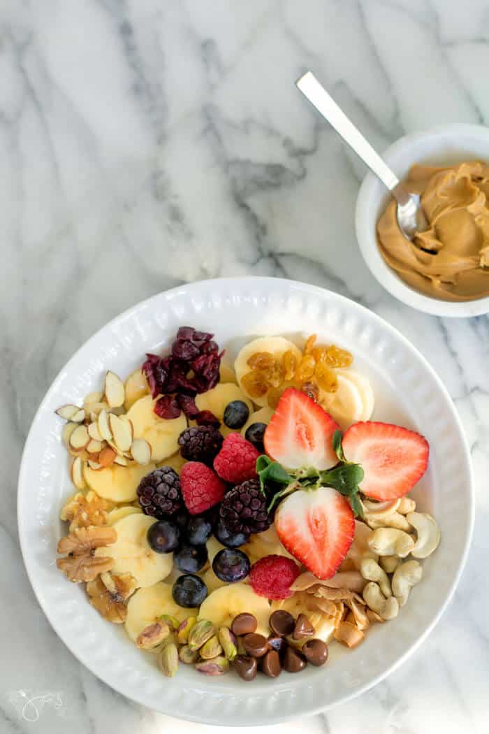 Fruit & Nuts Monkey Breakfast Bowl