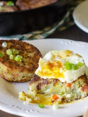 Bubble and Squeak Leftover Potato Cakes | All that's Jas