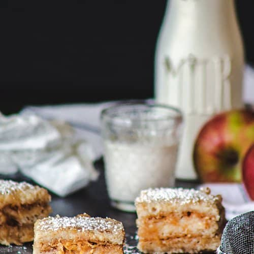 Croatian Easy Eggless Apple Cake   allthatsjas.com