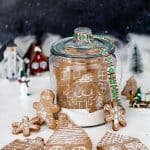 Snow Globe German Gingerbread Cookie Village | allthatsjas.com