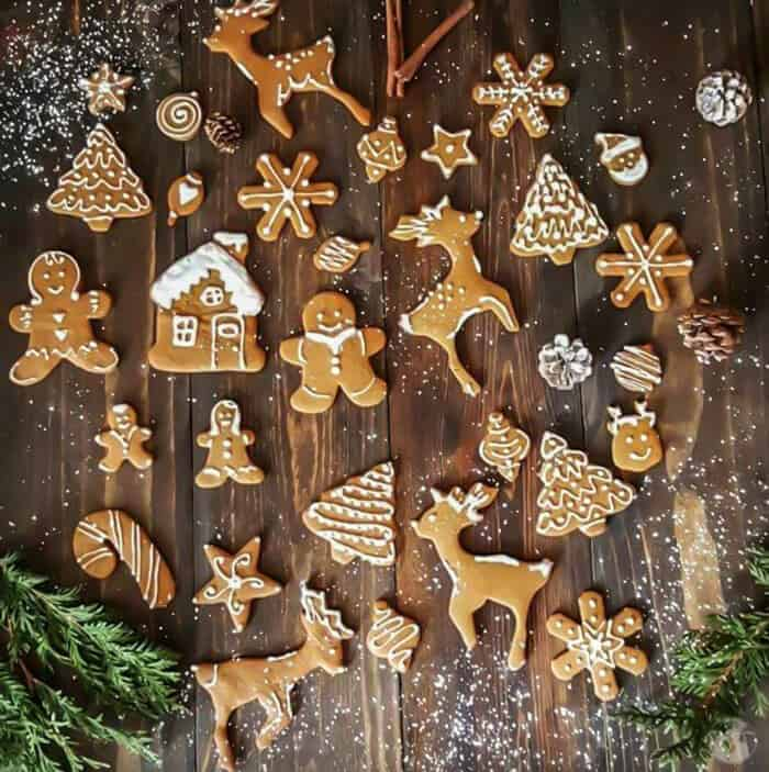 Gingerbread cookies aka Lebkuchen