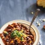 Two-Bean Chili Con Carne | allthatsjas.com
