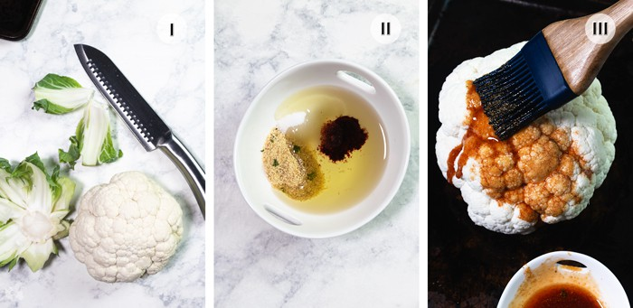 How to roast Livery's restaurant cauliflower
