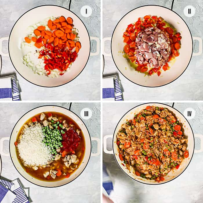4 steps to Bosnian-style risotto recipe